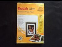 Kodak Ultra Photo Paper High Gloss 10x15cm(600)Sheets