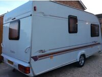 Beautiful Elddis Elusion 2 Berth ,motor mover +awning