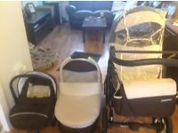 Euro cart passo 3in 1 pushchair