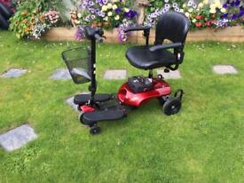 Boot Mobility scooter nearly new, with new batteries, serviced and free delivery