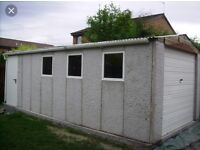 Wanted concrete sectionls Garage / panels