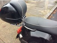 Vespa gts 125ie 2012 reg 3300 miles only 1 owner