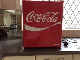 Coca Cola fridge.