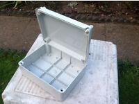 Gewiss Insulated IP56 Enclosure Junction Box (Grey) 240x190x90mm
