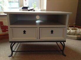 Upcycled TV cabinet