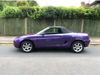 MG MGF Convertible with Long MOT, Service History, Mechanically and Drives Great, Ready to Drive