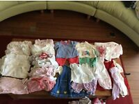 Bundle of baby clothes, size 0-3 months, girls