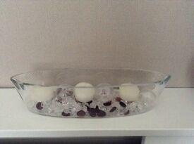 Glass Floating Candles Marks and Spencers