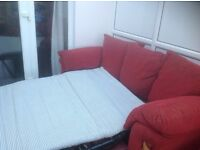 Fully sprung sofa bed