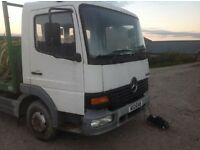 Mercedes Atego 7.5 ton Beaver tail spare or repair