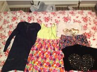 Bundle of girl clothes 10-11