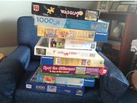 Lots of jigsaws at £1 each