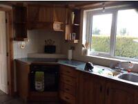 Kitchen including appliances.