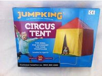 10FT TRAMPOLINE with safety net and 10FT CIRCUS TENT cover