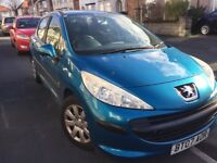 Peugeot 207 1.4 (2007), BLUE, new tyres 5 DOOR, Manual, OFFERS WELCOME