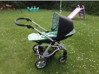 Mamas & Papas Sola buggy & car seat adaptors - used but in very good condition