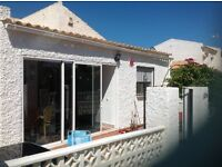 Detached Spanish bungalow 3 bed 2 shower rooms, one en-suite.