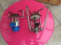 Two Camping Gas Stoves