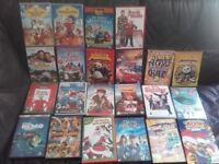 Childrens dvds for sale £2 each or 6 for £10 and one Simpsons box set for £3