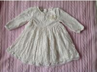 Baby girl occasion dress 3-6 month