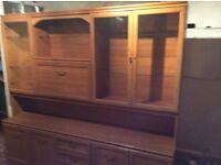 Free Furniture Item; Large Wall unit.