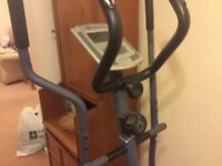 Cross Trainer and Bike. ( Roger Black) Excellent condition