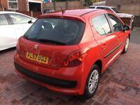 Peugeot 207 1.4 petrol. 73000 4 door