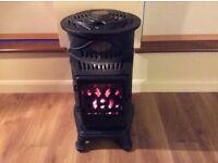 Provence Black Portable Gas Heater