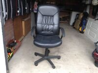 Office/ computer chair a few marks & stratches nothing serious £15