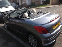 Peugeot 207cc Full Automatic, convertible