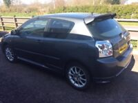 Toyota Corolla from 01 to 07 model vvti d4d