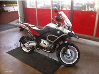 BMW R1200GS ADVENTURE 2007 -WHITE/RED -NEW LOWERED PRICE