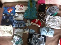 Baby clothes aged 0-3 month