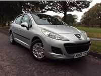 *2011 '60' * PEUGEOT 207 *1.4SPORTS* 5 DOOR * F/S/H* 1 YEAR M.O.T * IMMACULATE* £2295