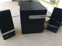 Set of three Technika speakers