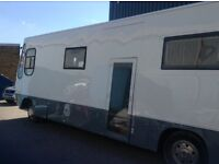 Motorhome RV conversion, live aboard auto, RHD diesel economical