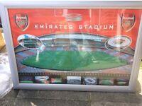 Large Arsenal photo frame