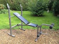 Weider 214 Foldable Bench (Delivery Available)
