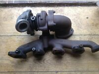 Turbo charger fits zafira mk 1 2.0 tdi and Astra /vectra only done 60000 mls perfect cond
