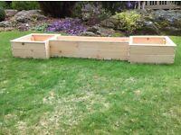 For sale - Wooden flower planter