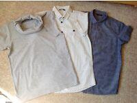 3 t shirts and 2 shirts