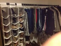 Clothes rail, commercial quality