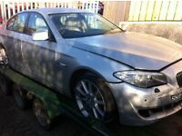 BMW 520D SE 2011 F10 AUTOMATIC FOR PARTS!