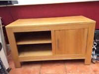 Oak tv/ entertainment cabinet