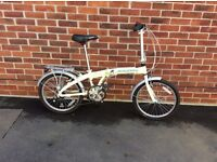 RALEIGH. Stowaway folding bike