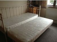 Laura Ashley White trundle bed
