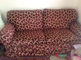 Multi York 3 seater sofa