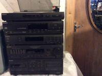Sony hi fi stack system