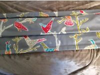 Nearly new roman blind , 3 months old with fixtures £40 ono