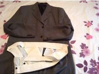Gents suit jkt xxxl trousers size 42 waist 31 length